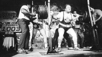 American Strength Legends Fred Hatfield Dr Squat
